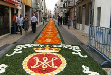 tapetes de flores