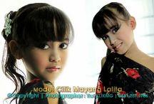 Model Cilik Indonesia