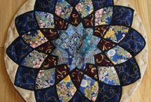 quilt circular table runners