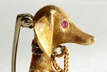 Fabulous animal jewels / Just as many people value their dogs, cats, birds, so too, women have loved and collected all sorts of animal and bird jewelry, including necklaces, bracelets and pins. Here's a look at some of the most delightful animal jewelry we've found!