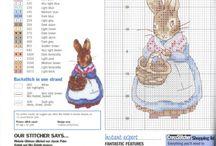 cross stitch patterns - Beatrice Potter