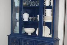 Project China Cabinet Refinish