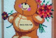 Teddy Bear Hama