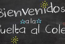 #VueltalCole / Productos para la #VueltalCole, bolsas de tela para muda, para llevar la merienda, libretas #personalizadas, todo lo relacionado con los niños/as...
