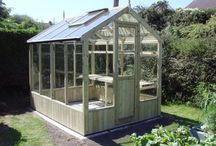 Swallow Greenhouses / Swallow Greenhouses the finest wooden greenhouses made from Finnish ThermoWood. #swallowgreenhouses