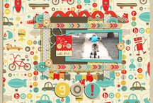 Creative Team Inspiration / Inspiration from the creative team featuring digital scrapbooking designs by Dani Mogstad at www.designbydani.com / by DesignbyDani