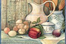 illustrazioni in cucina