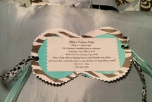 Party invitations / by Sue Belcher