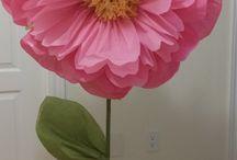 Dekoracje papierowe florystyczne