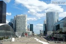 Dzielnica la Defense / La Defense to nowoczesna, bznesowa dzielnica Paryża.To tutaj pracuje ponad 150 tysięcy Paryżan.