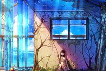 anime BGs;;