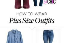 Moda Plus Size zestawy