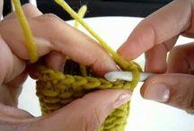 punto de lana.