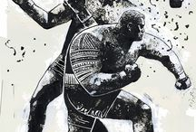 Boxing concept art