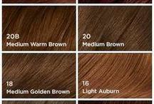 Hair colors/Hairstyles