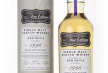 Ben Nevis single malt scotch whisky / Ben Nevis single malt scotch whisky