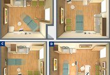 Consult rooms