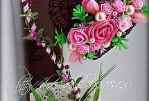 dekoration med hjerter og andet