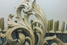 ornamento madera
