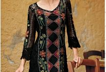crocheted dresses *inspiration* / *inspiration *crochet *dresses / by Karen Herndon
