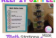 Math Stations / by Laura Anne