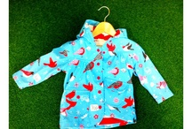 Too Cool For Rainy Days / Your child stays cool in the wettest of weather, thanks to the hottest rain-wear by Hatley
