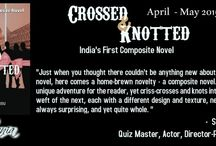 Crossed And Knotted / http://www.tbcblogtours.com/the-blog-tours/crossed-knotted-indias-first-composite-novel