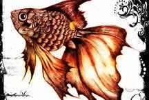 Gullfiskar