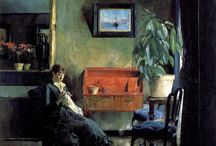 Interiors / Paintings of interiors
