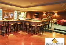 Crickets Lounge at Olympia Resort / Oconomowoc, WI ~ Quiet and sophisticated martini bar/cocktail lounge at Olympia Resort / by Olympia Resort: Hotel, Spa & Conference Center