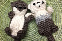 Crochet otter <3