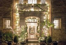 Holiday Trimmings / Capturing the beautiful holiday interior decor by Tallulah & Bird.