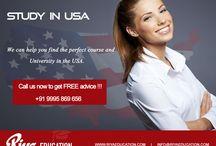 Study in USA | Riya Education Pvt Ltd
