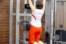 Assisted Pull-up Machine Exercise Demonstration