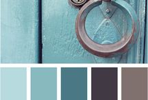 Color, Color, Color! / Color trends, ideas and swatches with indoor and outdoor paint in mind.