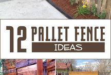 Picket fence pallets