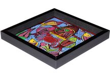 Patachitra Utility products / A range of innovative utility products in wood with traditional paintings from India
