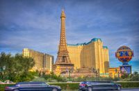 The Paris Hotel and Ceasar's Palace in Las Vegas / http://www.wanderingsearching.com/2015/01/my-entry-3.html