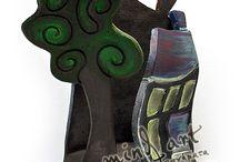 Mind Art ceramics - decoratives