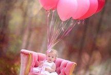 First birthday photo ideas / by Annie Knish-Mitchell