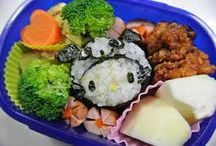 Homemade Character Box Lunch / made with Mum's love