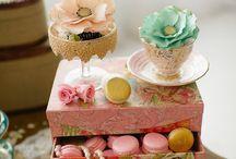 Ideias pra decorar a mesa do bolo