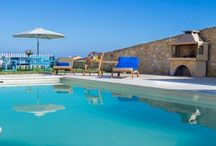 Villa rentals for large groups or family / Villas comfortable to accommodate more than eight guests. All villas are located in Chania.