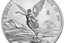 Monedas de plata México
