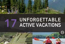 Adventure Vacations / Vacation ideas for the active & adventurous!