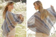 Beli-Knitted shawls
