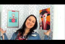 DIY: Como fazer quadrinhos para prender com fita dupla face