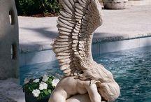 esculturas...