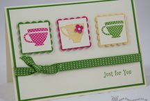 Tea Shoppe / Cards and projects I have created with the Tea Shoppe stamp set.