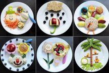 Plate. Display for kids